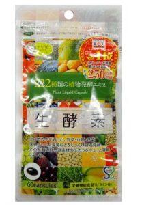 222種類の植物発酵エキス生酵素